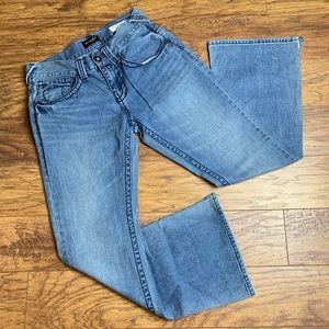 GUESS relaxed boot rancho fit denim jeans sz 30x30